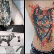 Tatuaże z wilkiem – 17 imponujących projektów