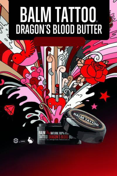 Masło Dragon's Blood - Regeneruje i odżywia skórę oraz przyspiesza gojenie ran.